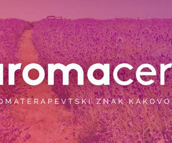 Pridobili smo aromacert® certifikat